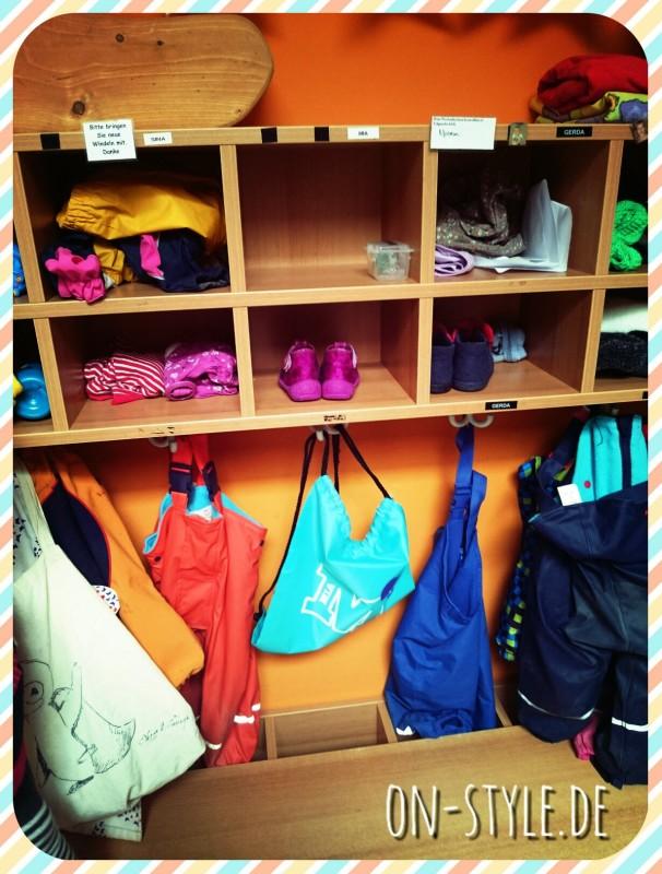 on-style Kita-Bag im Kindergarten Einsatz