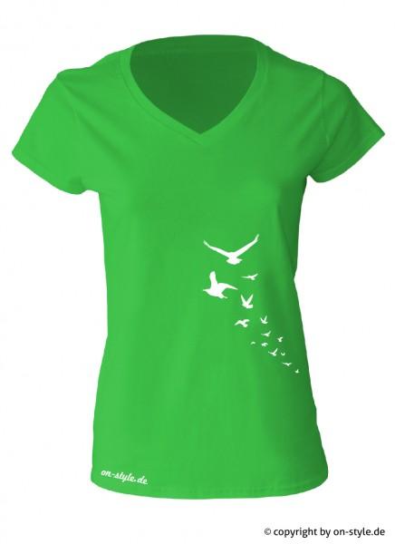 "T-Shirt ""Vögel"""