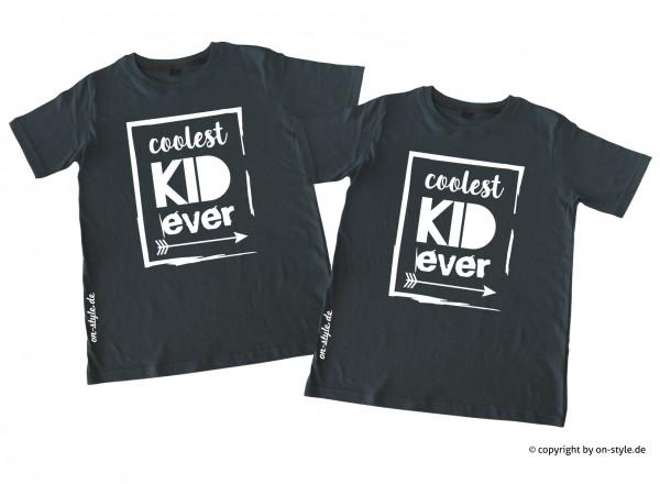 Kombi Geschwistershirts - coolest Kid