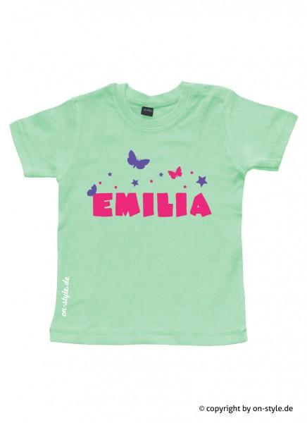 T-Shirt Mädchen - Schmetterlinge