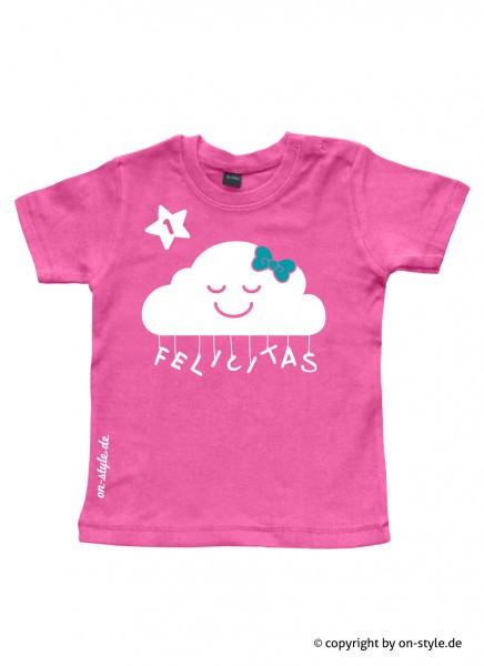 Geburtstags-Shirt Mädchen - Wolke
