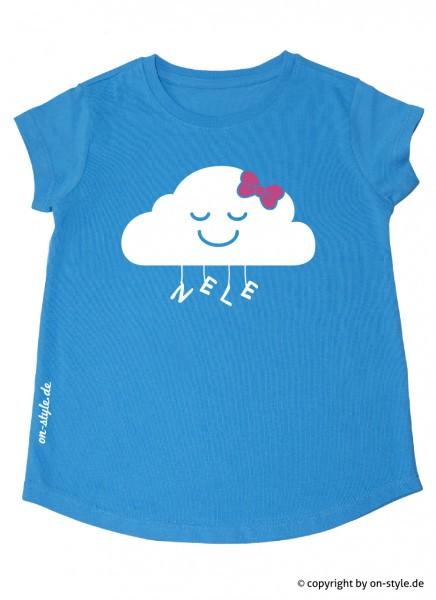 T-Shirt Mädchen - Wolke