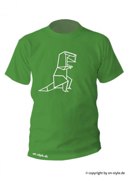 """T-Shirt """"Origami Dino"""""""
