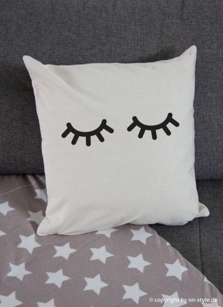 Kissenbezug - Schlaf-Augen