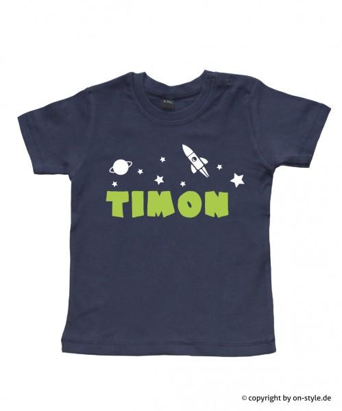 T-Shirt Jungen - Rakete