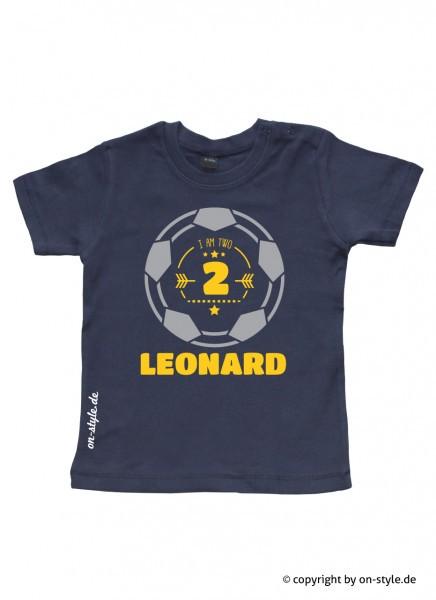 Geburtstags-Shirt - Fußball