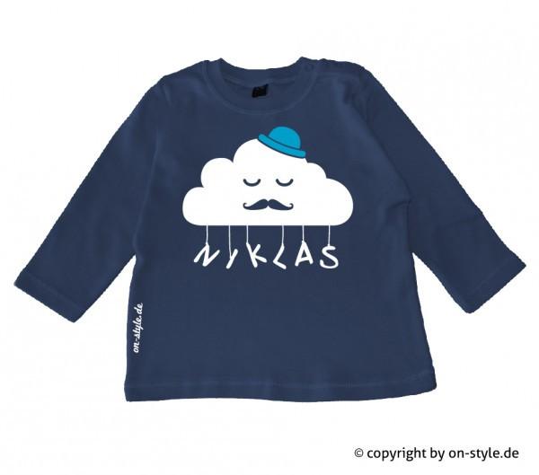 Langarm Shirt Jungen - Wolke