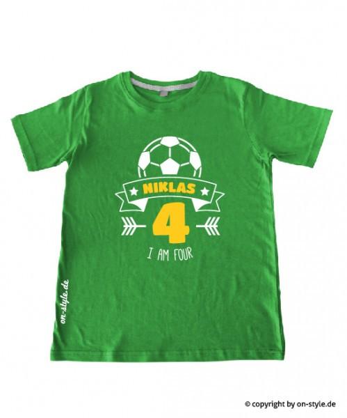 T-Shirt Jungen - Fußball