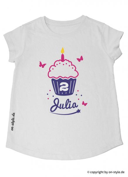 T-Shirt Mädchen - Cupcake