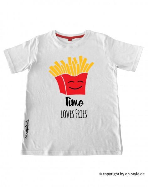 T-Shirt Jungen - Pommes