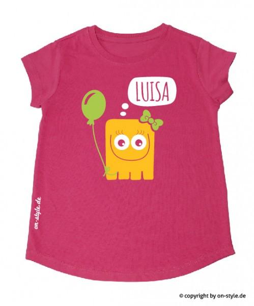T-Shirt Mädchen - Monster