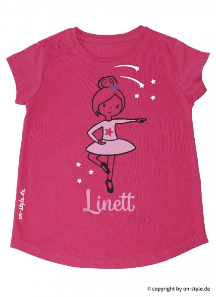 T-Shirt Mädchen - Ballerina