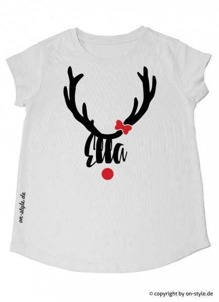 T-Shirt Mädchen - Rentier