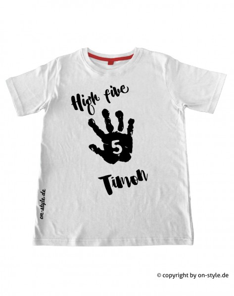 T-Shirt Jungen - High five