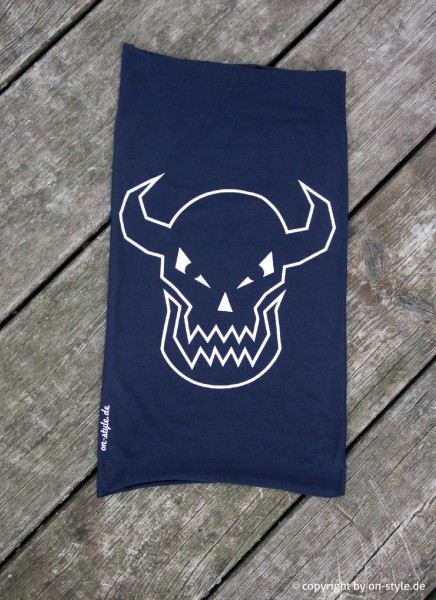 Schlauchschal, Loop, Teufel dunkelblau