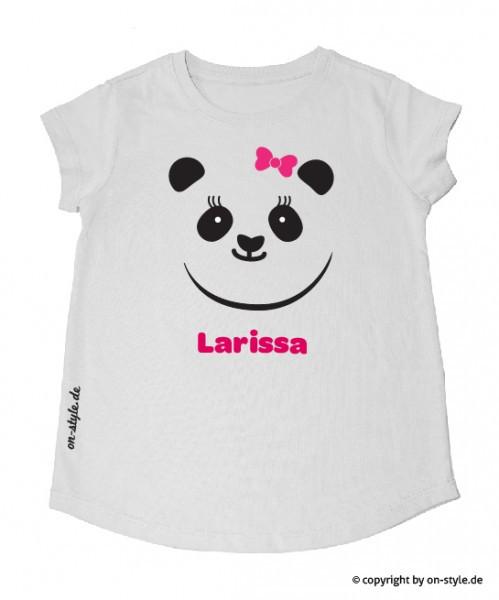 T-Shirt Mädchen - Panda