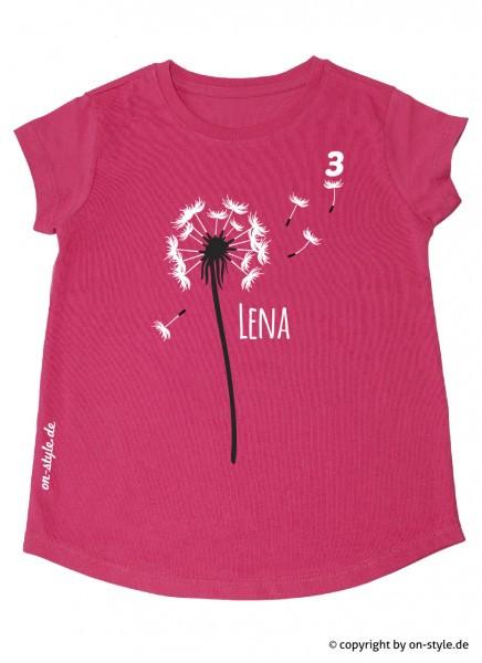 T-Shirt Mädchen - Pusteblume