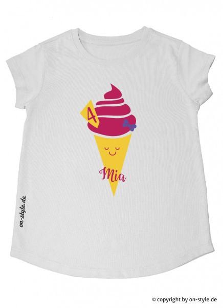 T-Shirt Mädchen - Eis