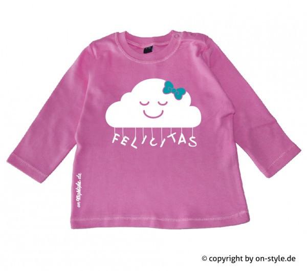 Langarm Shirt Mädchen - Wolke