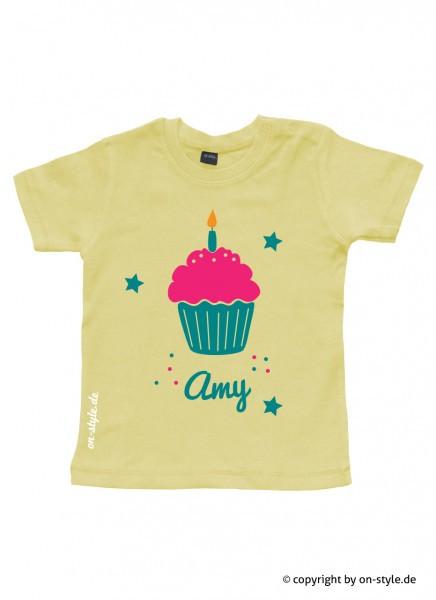 Geburtstags-Shirt - Cupcake
