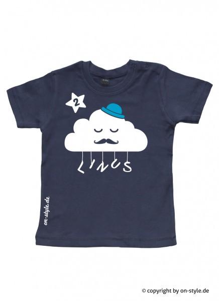 Geburtstags-Shirt Jungen - Wolke