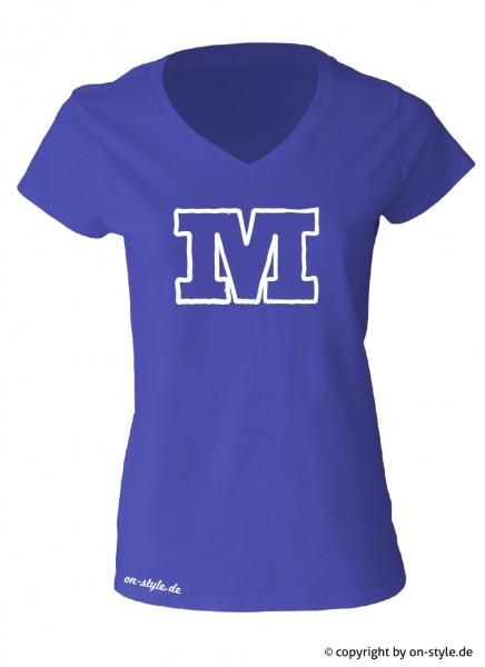 "T-Shirt ""Buchstabe"""